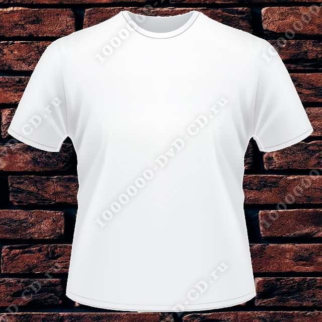 Футболка мужская REDFORT (двухслойная) белая