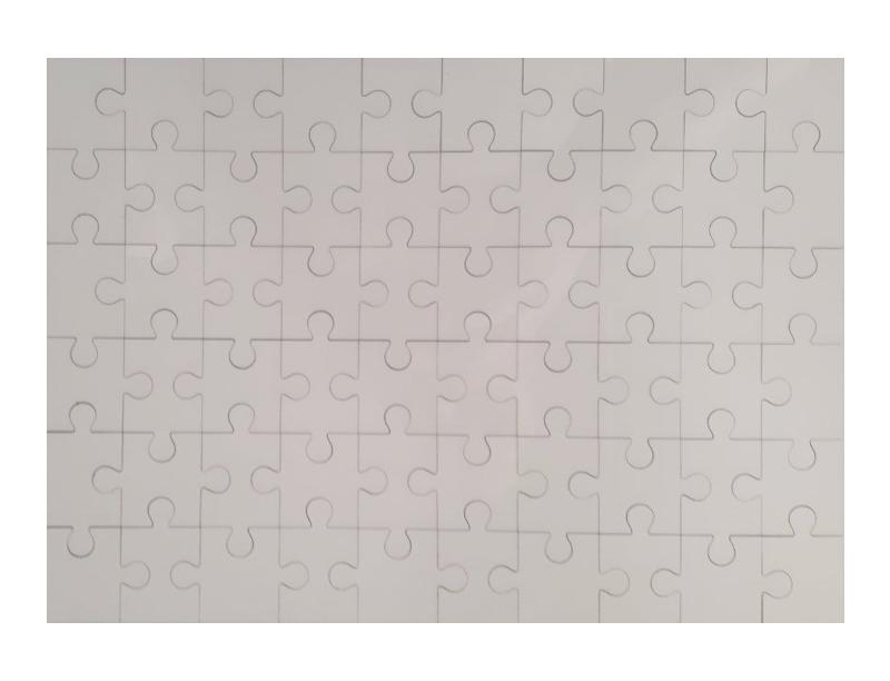 Пазл деревянный А4 (МДФ 60 деталей)