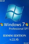 Windows 7 Professional SP1 x86/x64 IDimm Edition v.22.16 [2016, RUS]