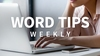 Word Tips Weekly [2017-2018, ENG] + Sub (Eng) Обновлено 05.11.2018