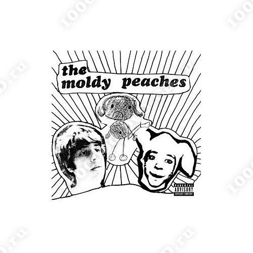 The moldy peaches live